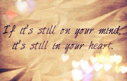 Still in your heart