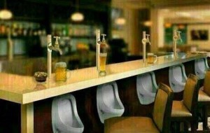 Pissoir-Bar