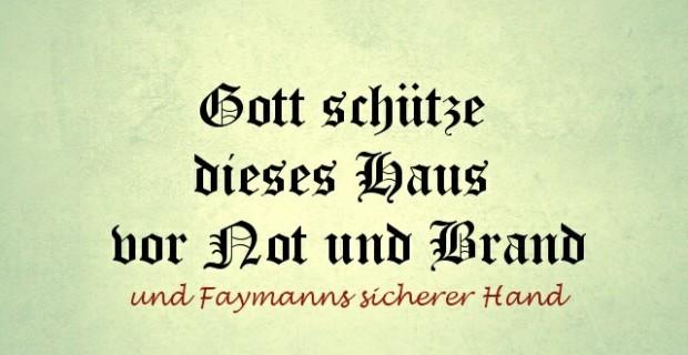 Faymanns sichere Hand