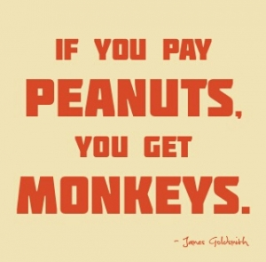 Peanuts and Monkeys