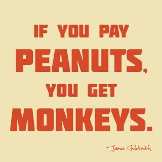 Peanuts and Monkeys