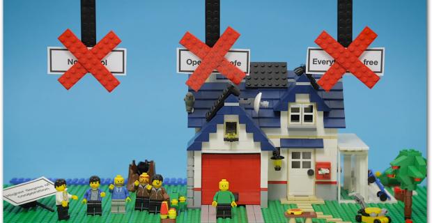 Open Source mit Lego erklärt
